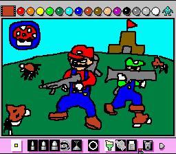 対爬虫類テロリスト用特殊部隊キノコブラザーズ